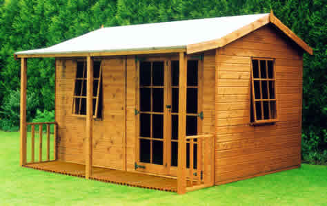 Redwood Timber Garden Buildings Playhouses Apex Sheds Rooms