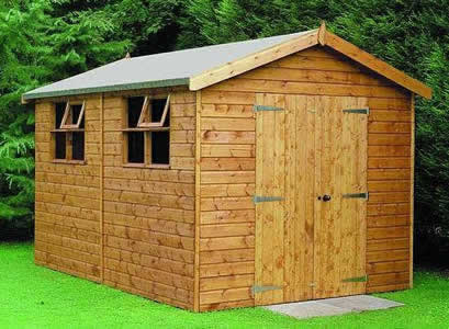 Wooden garden sheds ranbuild standard shed sizes free 8 for Garden shed sizes
