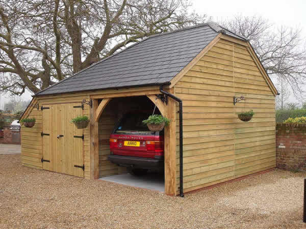 Wood carport kits do it yourself using sockets pictures to for Large garage kits
